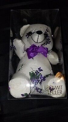 VERY RARE 1989 Bonwit Teller Collectible Bear in Original Retail Packaging MINT