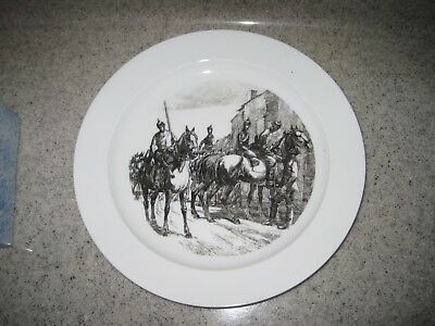 WW I German 1914-15 Nymphenburg Plate; Awesome, 100+ yrs old, FREE shipping