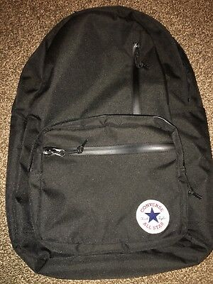 32fda8c0093 Used Converse Chuck Taylor All Star Go Backpack 2.0 One Size (Black)