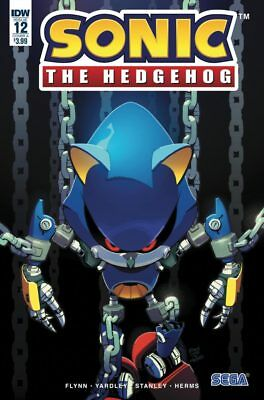 Sonic The Hedgehog #12 Stanley Cover Idw Comics Video Game Sega
