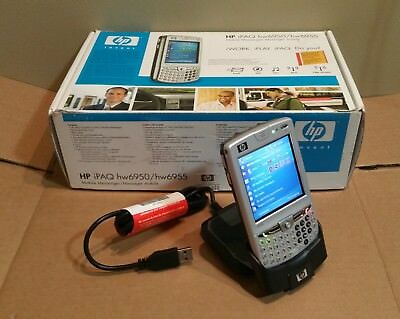 HP iPAQ hw6950 pocket PC - complete - new in open box, new battery, 2GB storage