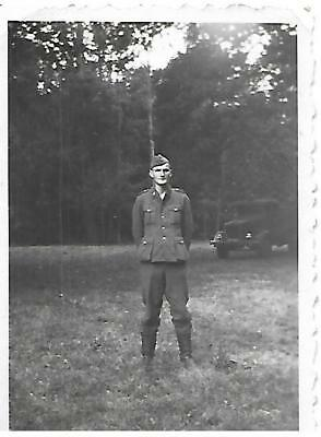 Photo Waffen allemand ww2 ( authentique )