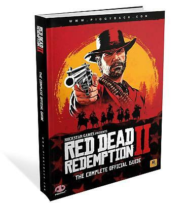 Red Dead Redemption 2 The Complete Official Guide by Piggyback Paperback NEW
