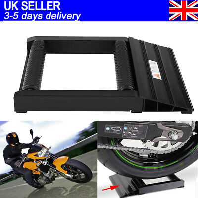 400KG Motorcycles Tyre/Wheel Roller Spinner & Easy Chain Cleaning Stand Aluminum