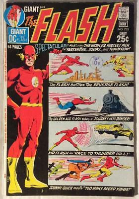 Flash #205 Giant (DC 1971) Bronze Age Classic