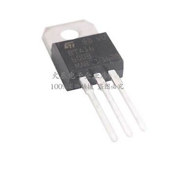 10 PCS BTA16-600B 16A Triac 600V TO-220 NEW