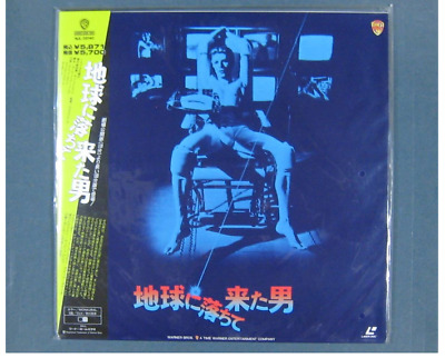 UNOPENED David Bowie THE MAN WHO FELL TO EARTH  JAPAN Laser Disc LD  New 1976