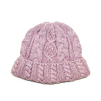 be637089e187f Aran Traditions Womans Winter Warm Knitted Donegal Cable Style Beanie Hat