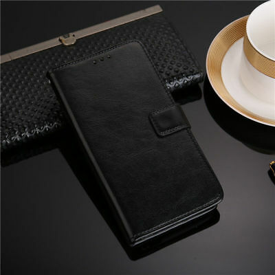 Vintage Flip PU Leather Pocket Card Magnetic Cover Case For ZTE Blade A530 A606