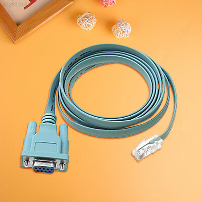 82CC General Universal RJ45 To RS232 DB9 Transfer Net Export Data Line Wire Lead