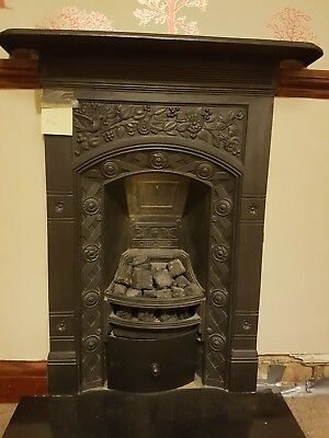 Pair Of Cast Iron Fireplaces