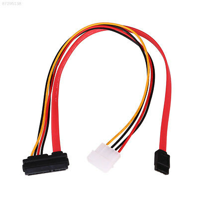 AAF0 2.5/3.5Inch SATA HDD Assemble Line Combo 15Pin Power + 7Pin Data Cable Cord