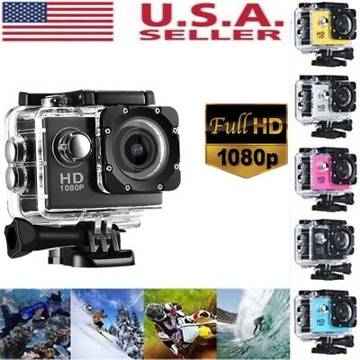Waterproof SJ4000 HD 1080P Ultra Sports Action Camera Mini DVR  Cam Camcorder US