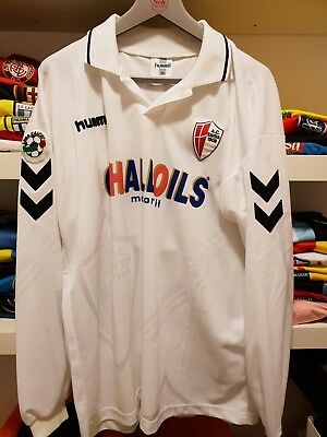Maglia Indossata A.c. Savoia 1908 1999-2000 Match Worn Jersey Player Issued