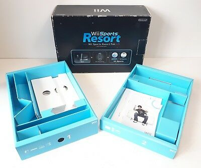 Nintendo Wii Sports Resort Black Console Packaging Box Only