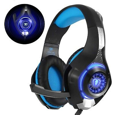 Casque Gaming PS4 Gamer avec micro Anti Bruit sans fil audio pc ordinateur ub
