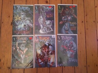 Tarot Witch of the Black Rose: Issues 7 - 12 RARE and still in sleeves