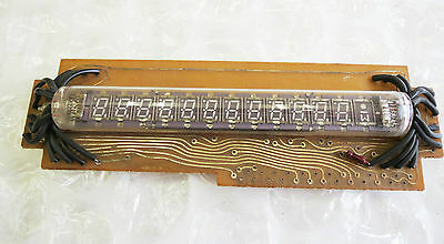 LD8121 NEC VFD TUBE 13 digits 7-segment for Nixie Clock, NEW