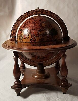 Vintage Reproduction Historical Globe