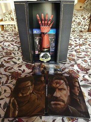 Metal Gear Solid V The Phantom Pain Collectors Edition Ps4