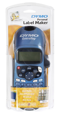 DYMO LetraTag Personal Label Maker - Blue  (FREE POSTAGE)
