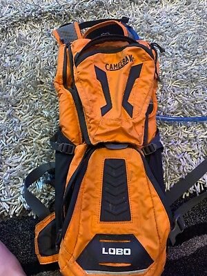 Camelbak Lobo Hydration Pack- Orange/ charcoal- excellent condition