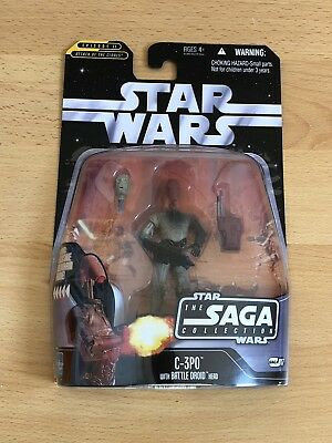 Star Wars Saga Collection TSC 017 C-3PO Action Figur