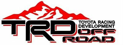 Toyota TRD Truck Mountain Off-Road 4x4 Racing Tacoma Decal Vinyl Sticker Pai...