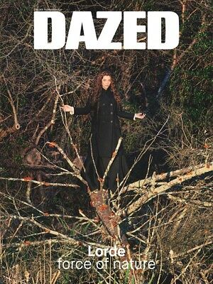 DAZED & CONFUSED Summer 2015: Lorde FORCE OF NATURE RYAN MCGINLEY Melodrama