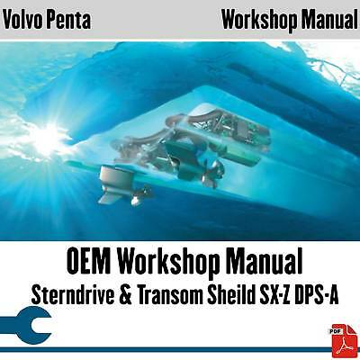 64+ MANUALS FOR Volvo Penta Diesel D series Engines in