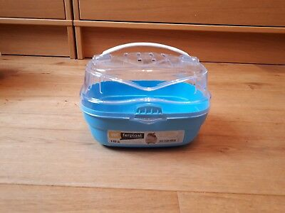 Pet Hamster House Travel Carrier Plastic Small Animal Dwarf House Cage Hot Sale