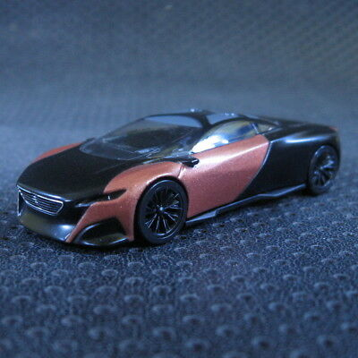 NOREV PEUGEOT Concept-Car Onyx 1:64 Diecast Mini Car Collection Model Red