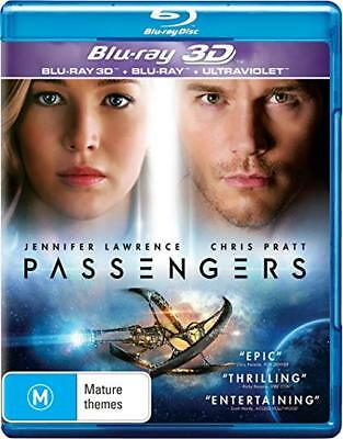 Passengers (3D Edition + 2D Edition) New & Sealed - Region B