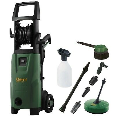 Genuine GERNI 1810PSI High Pressure Washer Water Blaster Cleaner + Accessory Kit