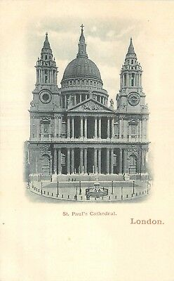 Cp Nuage London St Paul's Cathedral
