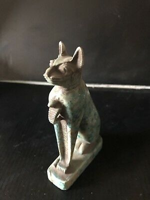 Ancient Egyptian Blue Cat 2800 BC -2750 BC