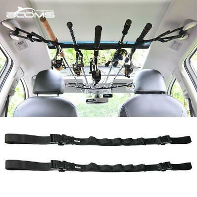 Booms Fishing VRC Vehicle Rod Carrier Holder Belt Strap With Tie Suspenders Tack
