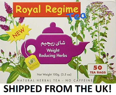 Royal Regime Tea made with Herbs for Weight Loss, Slimming, Detox Health 50 bags