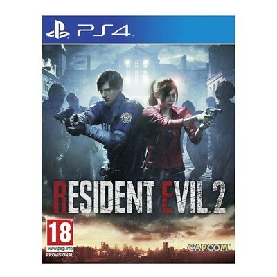 Resident Evil 2 Ps4 Playstation 4 Italiano Preordine 25 Gennaio 2019