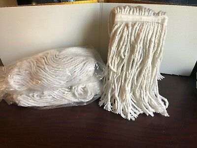 """(3) Commercial Mop Heads 12"""" Lot Of 3"""