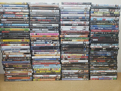 143 Brand New Sealed DVDs.  No Junk!!  All titles are Well Known Movies.