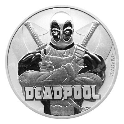1 oz 2018 Deadpool Silver Coin
