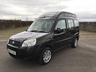 fiat doblo mobility vehicle mpv 1.9 diesel disabled access vehicle