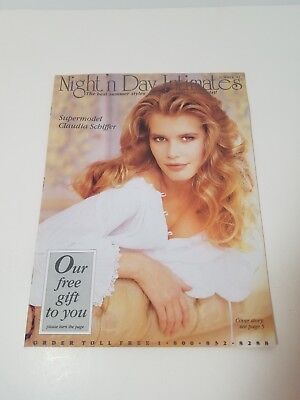 Night'n Day Intimates Catalog Summer 1992 Claudia Schiffer Cover