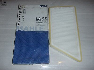 Brand New Mahle La57 Cabin Pollen Air Filter For Peugeot 206