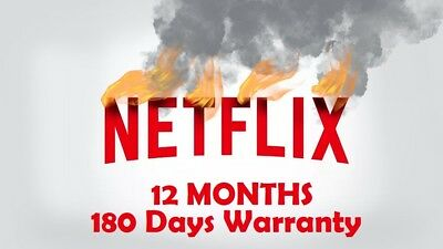 Netflix Ultra HD WORLDWIDE - [Fast Delivery] - 12 Meses