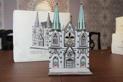 Department 56 The Cathedral Christmas in the City CIC Dept 56