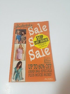 Frederick's of Hollywood Catalog Number 97 Issue 412 1995