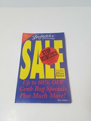 Frederick's of Hollywood Catalog Volume 95 Issue 406 1995