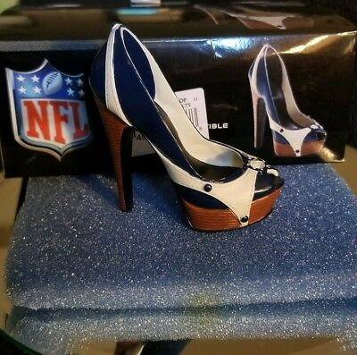 Just The Right Shoe *RARE NFL Shoe* Indianapolis Colts * J113813*  NIB